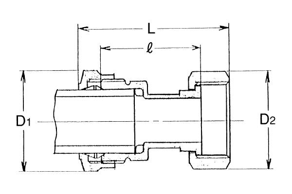 ST-メーターユニオン(量水器用)