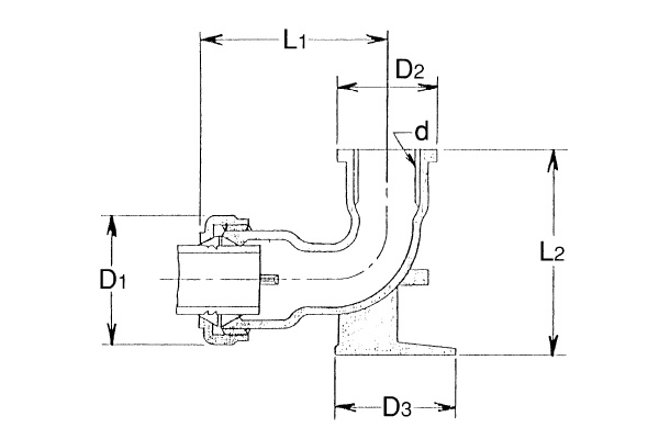ST-座付水栓エルボ